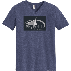 skypoint Unisex 50/50 Cotton/Polyester T-Shirts Anvil 6752
