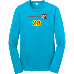 no-Name Boy's 100% Polyester Long Sleeves Sport-Tek YST350LS