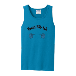 Team-RX-ish Men's 100% Cotton Tank Tops Port And Company PC54TT