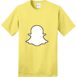 helens-snapchat Adult 100% Cotton T-Shirts Port And Company PC150
