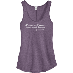 Danielle-Ruppert-druppertblog-Lifestyle-YouTu Boo boo Women's 50/50 Cotton/Polyester Tank Tops Alternative AA5054