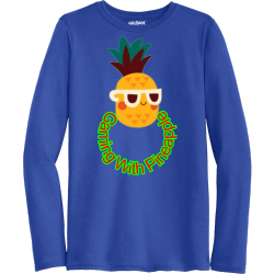 Gaming-With-Pineapple Men's 100% Polyester Long Sleeves Gildan 42400