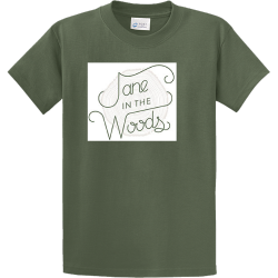 jane-in-the-woods PROPERTY OF XXL COLUMBUS Men's 100% Cotton T-Shirts Port And Company PC61