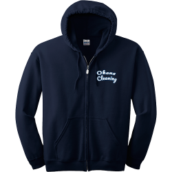 Ohana-Cleaning Men's 50/50 Cotton/Polyester Hoodies Gildan 18600