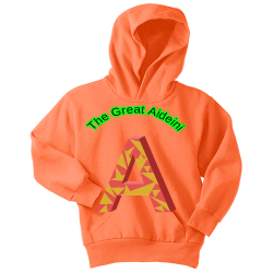 The-Great-Aideini Boy's 50/50 Cotton/Polyester Hoodies Port And Company PC90YH