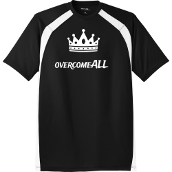 overcome-ALL Unisex 100% Polyester T-Shirts Sport-Tek T478