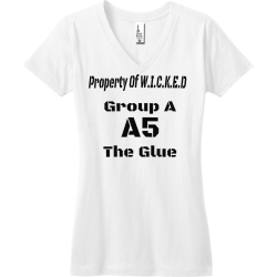 Property-Of-W.I.C.K.E.D-A5-The-Glue-Group-A Junior's 100% Cotton T-Shirts District Threads DT5501