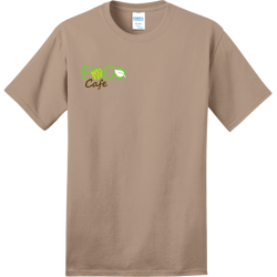 fc-cafe Adult 100% Cotton T-Shirts Port And Company PC150