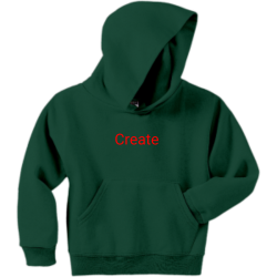 Mis Design Boy's 50/50 Cotton/Polyester Hoodies Jerzees 996Y
