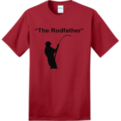 Rodfather make philadelphia great again Adult 100% Cotton T-Shirts Port And Company PC150