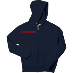 homeless-helpers Boy's 50/50 Cotton/Poly Hoodies Jerzees 993B