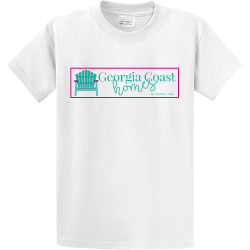 GEORGIA-COAST PROPERTY OF XXL HIALEAH Men's 100% Cotton T-Shirts Port And Company PC61
