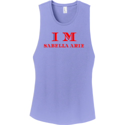 Isabella-Marie Junior's 100% Cotton Tank Tops District Threads DT6301