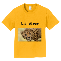 Izak-Gamer Boy's 100% Cotton T-Shirts Port And Company PC450Y