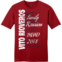 VITO-RIOVEROS-Family-Reunion-PASK0-2018 BRIDGES Family Reunion 19 Men's 100% Cotton T-Shirts District Threads DT6000