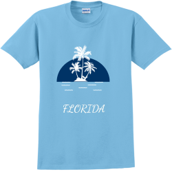 WE-ARE-HOME----------PALM-COAST-2018-FLORIDA Adult 100% Cotton T-Shirts Gildan 2000
