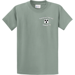 Radiation-Therapy-Class-of-19-- PROPERTY OF XXL HIALEAH Men's 100% Cotton T-Shirts Port And Company PC61