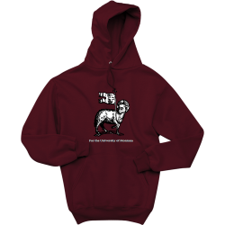 Catholic-Campus-Ministry-For-the-University-of-Montana Men's 50/50 Cotton/Poly Hoodies Jerzees 4997M