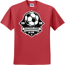 18-CLIFFSIDE-PARK-ALL-STAR-RECREATION-SOCCER--20 Youth Group - Youth Group T-shirts