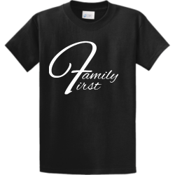 Family PROPERTY OF XXL PHILADELPHIA Men's 100% Cotton T-Shirts Port And Company PC61