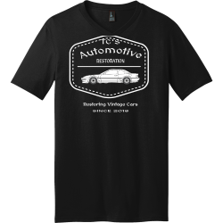 RESTORATION-Automotive-Restoring-Vintage-Cars--SINCE-2018-TCS Men's 100% Cotton T-Shirts District Threads DT5500
