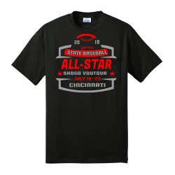 STATE-BASEBALL-ALL-STAR--CINCINNATI-20-18-JULY-19-23-SHOGO-VOUTOUR Men's 50/50 Cotton/Polyester T-Shirts Port And Company PC55P