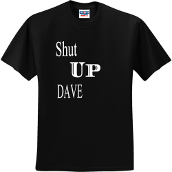 Shut-Up-DAVE Youth Group - Youth Group T-shirts