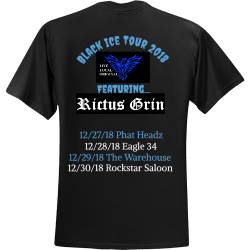 Black-Ice-Tour-2018 Youth Group - Youth Group T-shirts