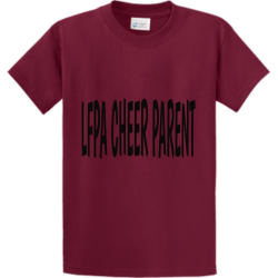 LFPA-CHEER PROPERTY OF XXL SAN JOSE Men's 100% Cotton T-Shirts Port And Company PC61