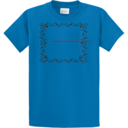 "Tere JR Merch ""Beefaroni""  Blue Design Custom T-shirts"