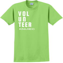 VOLUNTEER-KNUIEC Catopolis Adult 100% Cotton T-Shirts Gildan 2000