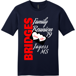 BRIDGES-Family-Reunion-19 BRIDGES Family Reunion 19 Men's 100% Cotton T-Shirts District Threads DT6000