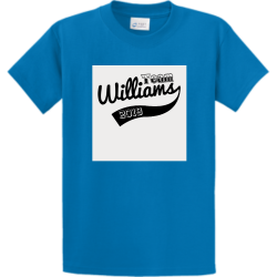 "Team-Williams JR Merch ""Beefaroni""  Blue Design Custom T-shirts"