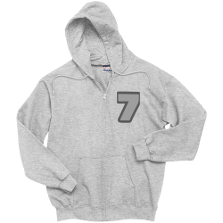 7 Men's 100% Cotton Hoodies Hanes F283
