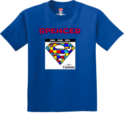 SPENCER 2019 COUSIN CAMP 1 Boy's 100% Cotton T-Shirts