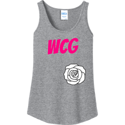 WCG Al Women's 100% Cotton Tank Tops Port And Company LPC54TT