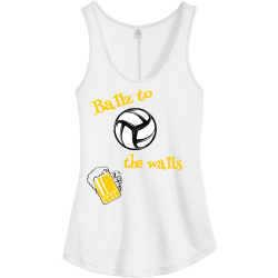 Ballz-to-the-walls Boo boo Women's 50/50 Cotton/Polyester Tank Tops Alternative AA5054