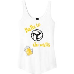 Ballz-to-the-walls2 Easter Junior's 100% Cotton Tank Tops District Threads DT2500