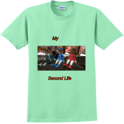 MY-Second-Life WILMA Adult 100% Cotton T-Shirts Gildan 2000
