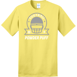 POWDER-PUFF-FOOTBALL-2019 make hialeah great again Adult 100% Cotton T-Shirts Port And Company PC150