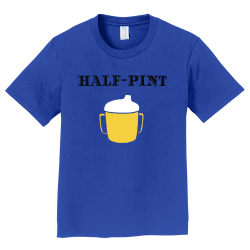 half-pint Boy's 100% Cotton T-Shirts Port And Company PC450Y