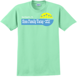 Family-vacay DON OM.MR Adult 100% Cotton T-Shirts Gildan 2000