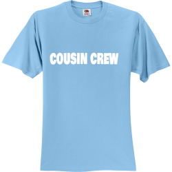 COUSIN-CREW Create Unisex 100% Cotton T-Shirts Fruit Of The Loom 3930