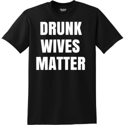 DRUNK-WIVES-MATTER YELLOW JACKETS YOUR BTW 20 23  CLASS OF Men's 50/50 Cotton/Polyester T-Shirts Gildan 8000
