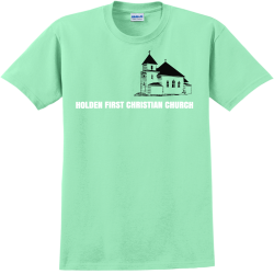 HOLDEN-FIRST-CHRISTIAN-CHURCH DON OM.MR Adult 100% Cotton T-Shirts Gildan 2000
