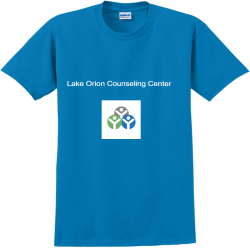 Lake-Orion-Counseling-Center Lee Shirt 1 Adult 100% Cotton T-Shirts Gildan 2000