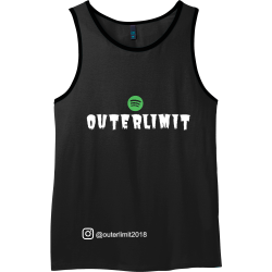 OUTERLIMIT---outerlimit2018 OUTERLIMIT   outerlimit2018 Mens 100% Cotton Tank Tops District Threads DT1500