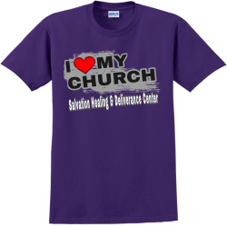 Salvation-Healing--Deliverance-Center SA Adult 100% Cotton T-Shirts Gildan 2000