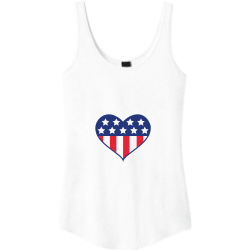 4th-july Easter Junior's 100% Cotton Tank Tops District Threads DT2500