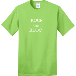 BLOCK-the-ROCK make paw paw great again Adult 100% Cotton T-Shirts Port And Company PC150